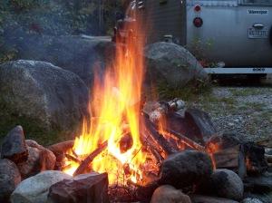 J-P's campfire