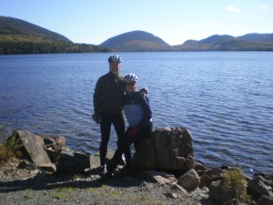 At Eagle Lake in Acadia