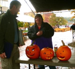 We met Misty at the Swampbats table