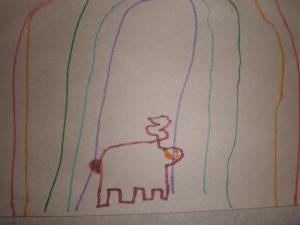 Rainbow artist - Parker L.