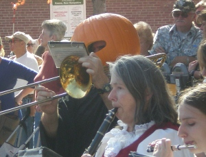 Members of the Keene American Legion Band