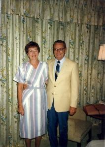Millie & Les - my parents