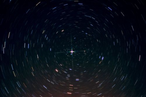 """This one is from Instructables.com. It shows what we learned, that the North Star is constant, while the other constellations """"rotate"""" around it."""