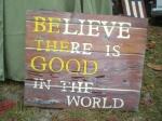 We believe!