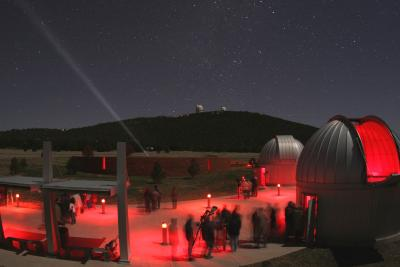 This isn't our photo. It comes from the McDonald Obs. website. We just don't have the skills to take a pic like this!
