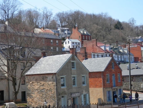 The town on the hill.